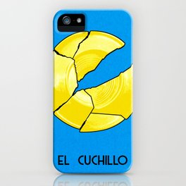 BB Loteria Card No.14 - The Knife iPhone Case
