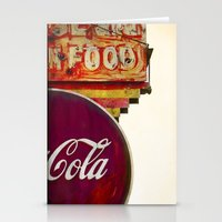 coke Stationery Cards featuring cOLD COKE by Massimiliano Bertozzi