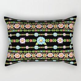 Millefiori Boho Chic Stripe Rectangular Pillow