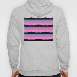 Abstract mountains horizons Hoody