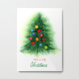 Have a Jolly Christmas Metal Print