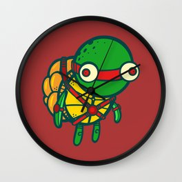 Where's My Weapon - Red Wall Clock