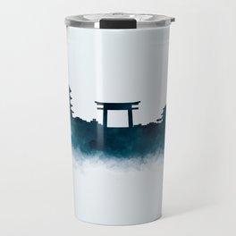 Kyoto Skyline Travel Mug