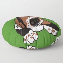 Basset Hound Floor Pillow