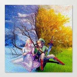 Last Love Zelda Canvas Print
