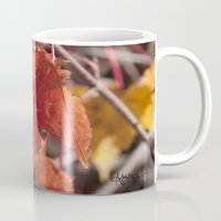 manchester Mugs featuring Fall in Manchester, NH by Abby Hoffman