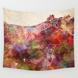 Muscat map Wall Tapestry