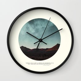 Universe remedy Wall Clock