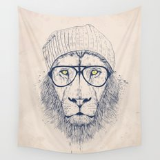 Cool lion Wall Tapestry
