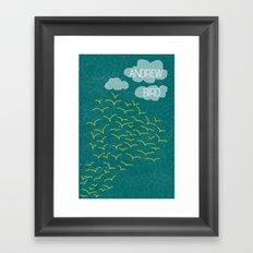 Andrew Bird 'Flock' Framed Art Print