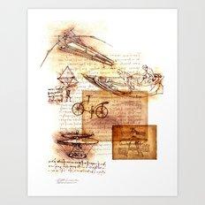 After Leonardo Art Print