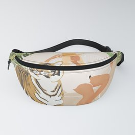 The Lady and the Tiger Fanny Pack