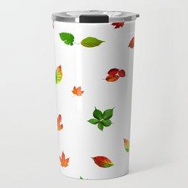 Colorul autumn leaves Travel Mug