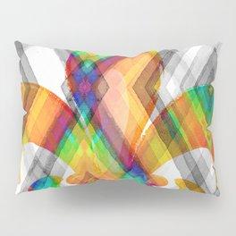 Fleur De Lis Diamond Pattern Pillow Sham