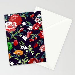 VAMPIRE WEEKEND FLORAL VECTOR Stationery Cards