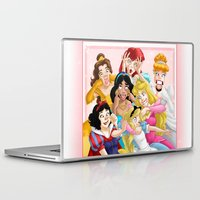 friday Laptop & iPad Skins featuring Smile for the Camera by Brianna