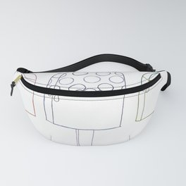 Pattern Popsicle Ice Cream Fanny Pack