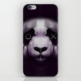 XO Panda iPhone Skin