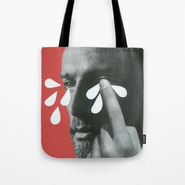 Big boys cry Tote Bag