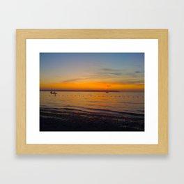 North Shore Living Framed Art Print