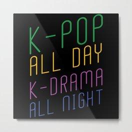 K-pop K-drama Metal Print