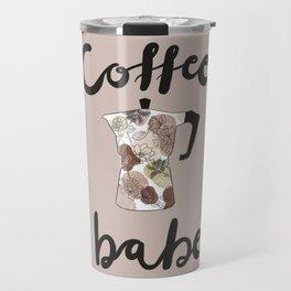 coffee babe Travel Mug