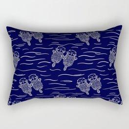 Otterly Devoted Rectangular Pillow