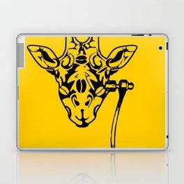 Coffee Giraffe Laptop & iPad Skin