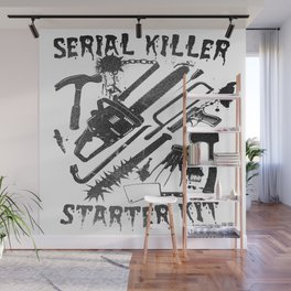 SERIAL KILLER STARTER KIT. Wall Mural