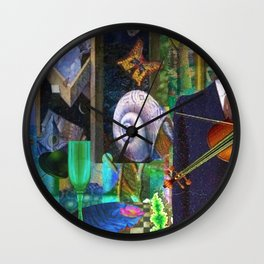 Persistance of Memory Wall Clock