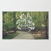 adventure Area & Throw Rugs featuring Adventure by Hugh & West