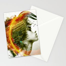 Afro Warrior Stationery Cards