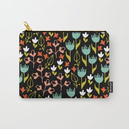 Colette - Black Carry-All Pouch