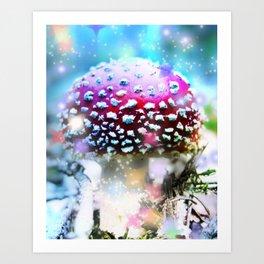 """""""Magic Mushroom"""" Art Print"""