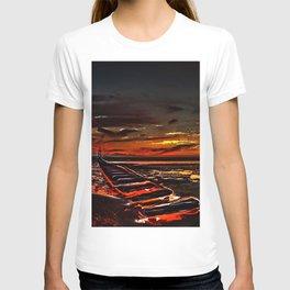 The Beach at Sunset T-shirt
