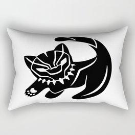 Small Cat,Black Panter 1 Rectangular Pillow
