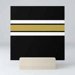 TEAM COLORS 2....Gold Mini Art Print