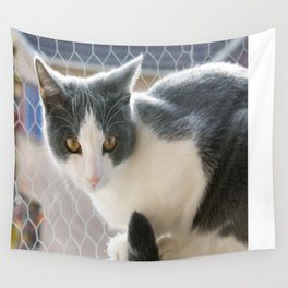 A Max And Mantle Bi Colour Cat Wall Tapestry