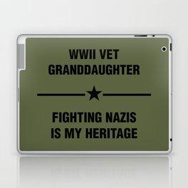 WWII Granddaughter Heritage Laptop & iPad Skin