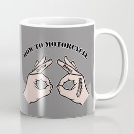 How To Motorcycle Coffee Mug