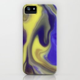 Milky Way Purple Day iPhone Case