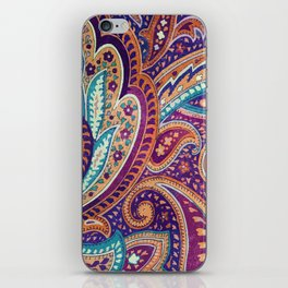 Summer paisley iPhone Skin