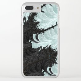 ABSTRACT.ALIENWINTER Clear iPhone Case