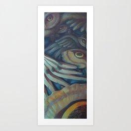 """""""Winged Things"""" Art Print"""