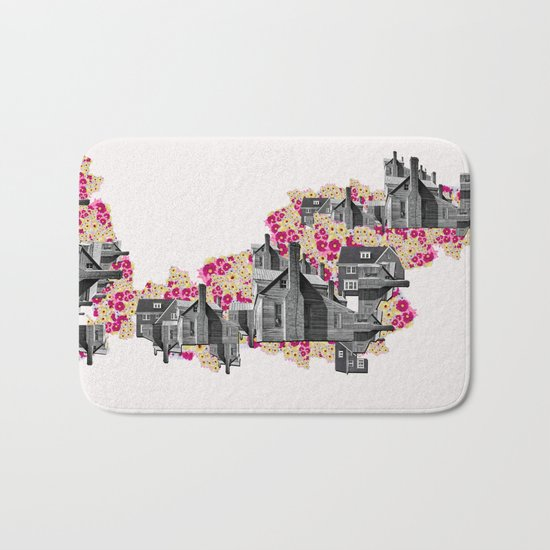 FILLED WITH CITY II Bath Mat