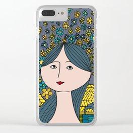 Midsummer Dream Clear iPhone Case