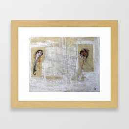 Long Distance Relationship Framed Art Print