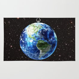 Disco Earth Rug