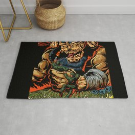 judgment of the devil Rug