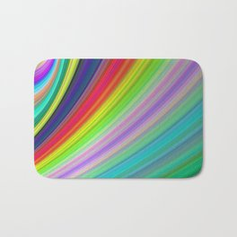Rainbow Speed Bath Mat